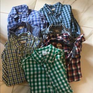 Jcrew button down shirts